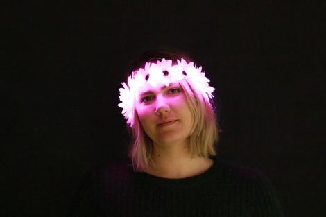 Light Up Flower Crown Pink Little Light Lab