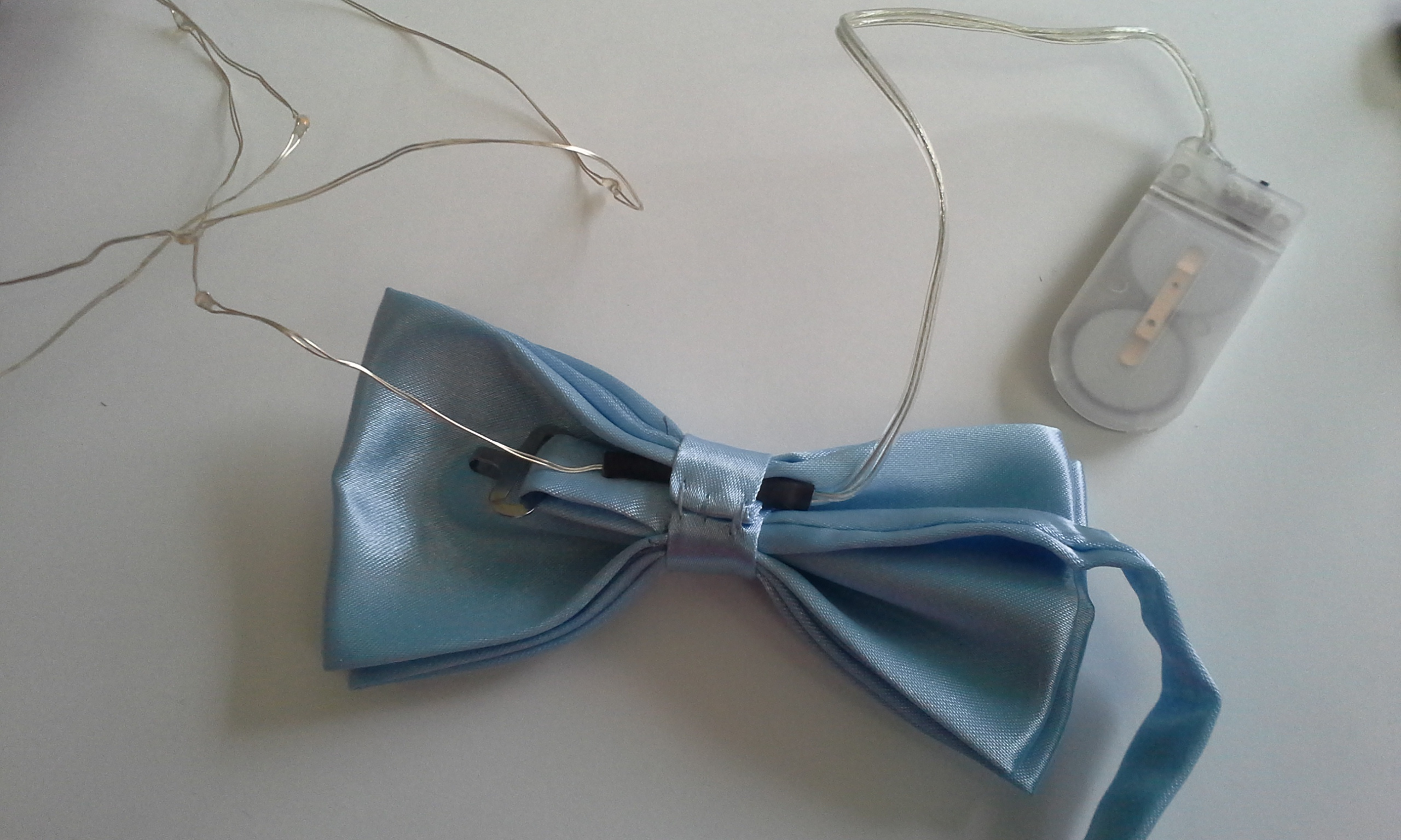 DIY Bow Tie — With Lights! | Wearables Workshop
