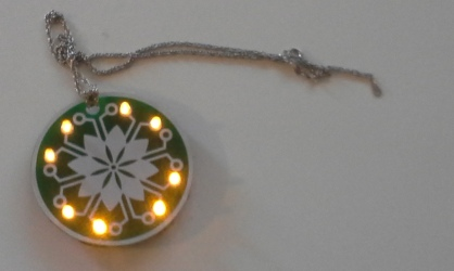 LED Flower Necklace Learn to Solder Kit1 (113)