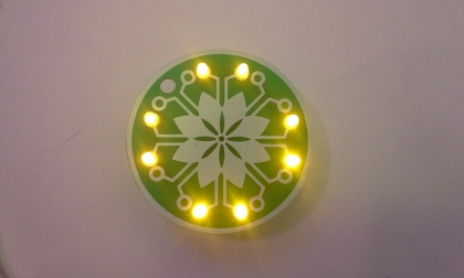 LED Flower Necklace Learn to Solder Kit1 (95)
