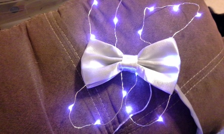 LED Light Up Bowtie Glow Tutorial (22)