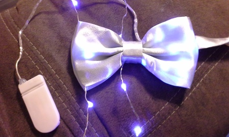 LED Light Up Bowtie Glow Tutorial (26)